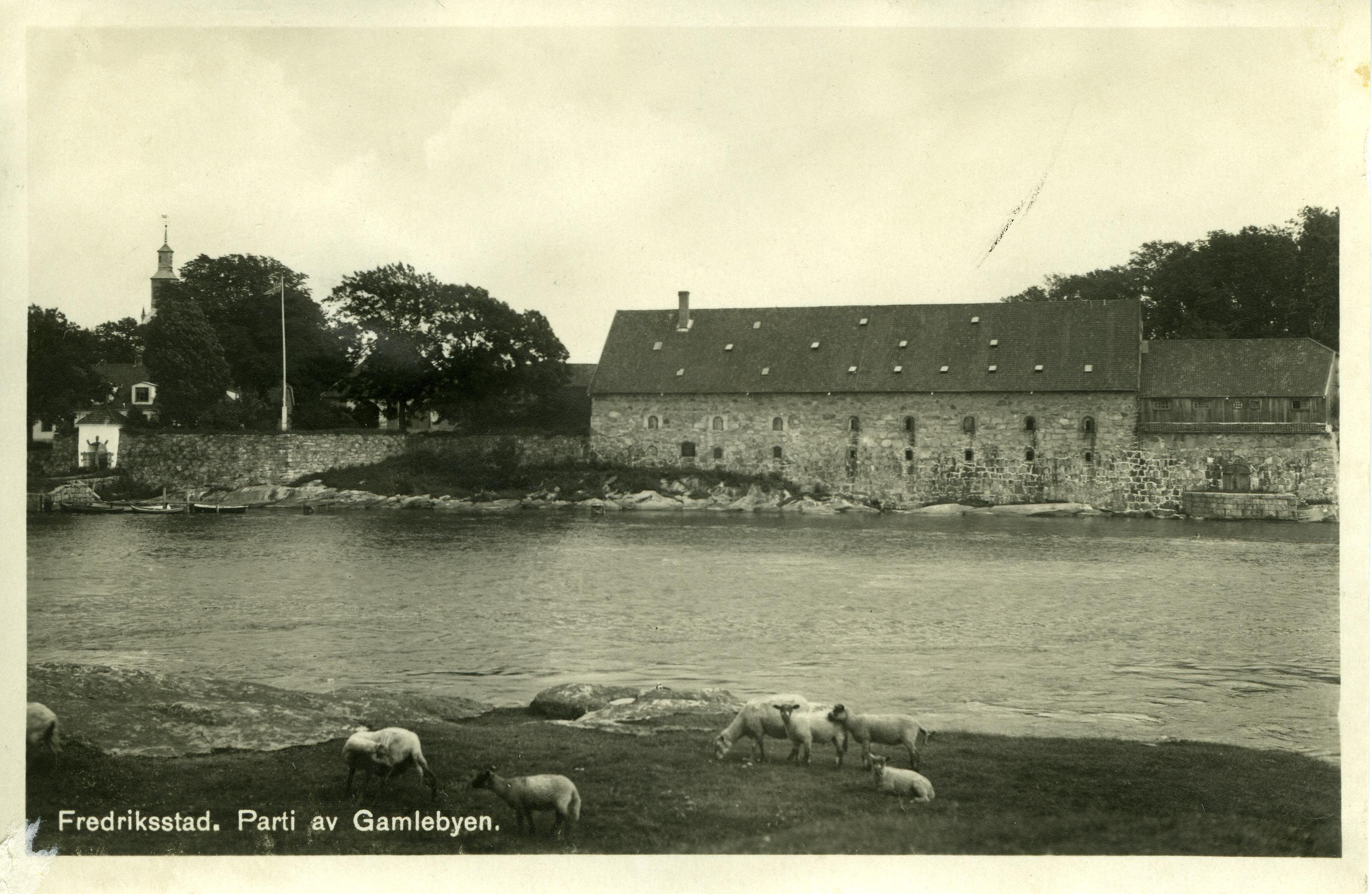 Det grunnmurede provianthus med blokkhus, Gamlebyen i Fredrikstad