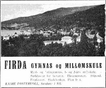 FIRDA GYMNAS