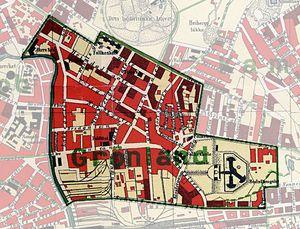 kart grønland oslo Grønland (Oslo)   lokalhistoriewiki.no kart grønland oslo