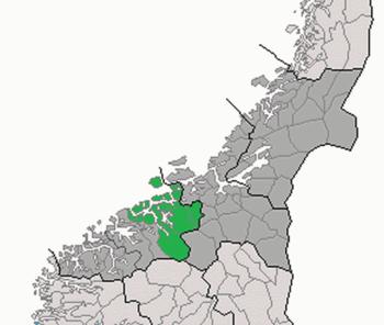 nordmøre kart Nordmøre   lokalhistoriewiki.no nordmøre kart