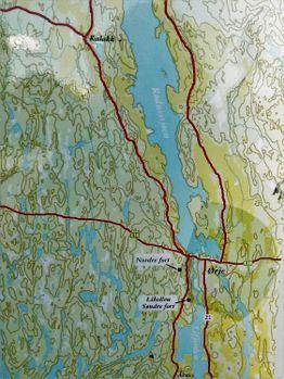 ørje kart Ørje fort   lokalhistoriewiki.no ørje kart