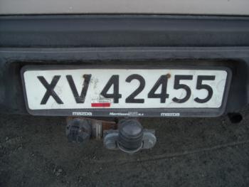 norske registreringsnummer bil