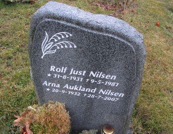 Rolf Just Nilsen familie