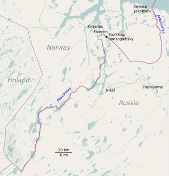 Norway and Russia border map.png